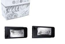 Original AUDI tt 8n plaque d'immatriculation éclairage droit & gauche roadster coupé quattro