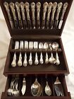BURGUNDY BY REED & BARTON STERLING SILVER FLATWARE SET SERVICE 77 PIECES