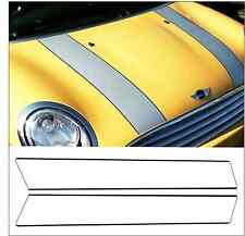 BONNET STRIPES WITH PIN STRIPE FOR BMW MINI (stripes/decals/stickers/graphics)