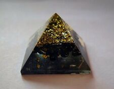 Reiki energy charged black tourmaline orgone pyramide puissant source d'énergie