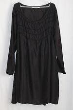 cocon.commerz PRIVATSACHEN SCHAFFEN Kleid aus Seide in schwarz Gr. 2
