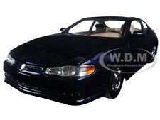 2000 CHEVROLET MONTE CARLO SS NAVY BLUE 1/18 MODEL CAR BY SUNSTAR 1986