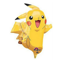 "31"" Pokemon Pikachu & Friends Foil Balloon Birthday Party Decorations Supplies"