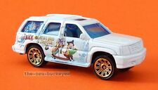 2013 Matchbox Loose White Cadillac Escalade Jake & Never Land Pirates Brand New