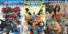 JUSTICE LEAGUE REBIRTH #1 VARIANT & 1 2 3 4 5 6 7 8 9 10 11 12 13 (DC 2016)