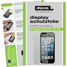 Apple iPhone 5C Schutzfolie matt Displayschutzfolie Folie dipos