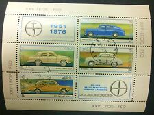 POLAND-STAMPS Fibl55 SC2180-83a Mibl66 - Car Factory, 1976, used