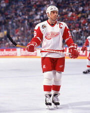 1992 Detroit Red Wings STEVE YZERMAN Glossy 8x10 Photo NHL Hockey Print Poster