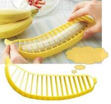 Practical Banana Slicer Cutter Chopper Fruit Salad Vegetable Peeler Kitchen Tool