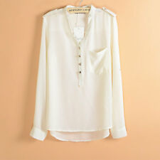 Women's Chiffon Shirt/Blouse/Top size:8,10,12