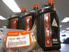 Genuine Honda Oil Change Kit TRX350 Rancher TE TM FE FM 2000 2006 10W40 GN4