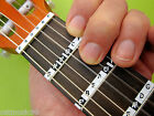 GUITAR NOTE STICKERS- 3/4 & 1/2 SIZE CLASSICAL Child Learn Nylon Fretboard Label
