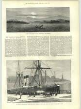 1883 Terrible Volcanic Eruption Java Steamship Saint Germain Collision