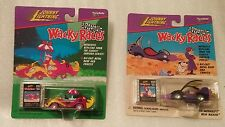 Set of 2 Johnny Lightning Wacky Racer cars