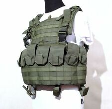 "Tactical Chest Vest ""PAROL"" MOLLE System in Olive color from SSO Russia"