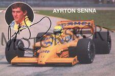Ayrton Senna 1987 F1 Lotus