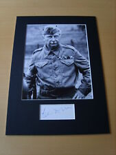 Clive Dunn Dads Army Genuine Autograph - UACC / AFTAL.