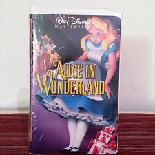 Walt Disney's Alice in Wonderland Masterpiece Collection VHS Sealed Clamshell