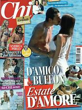 Chi.Gigi Buffon & Ilaria D'Amico,Christina Aguilera,Cristina Parodi,Andrea Pirlo