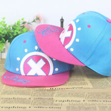 Anime One Piece Tony Chopper Logo Cotton Baseball Cap Sun Hat Casquette Cosplay