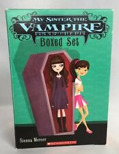 My Sister The Vampire Sienna Mercer Box Set Six Books Scholastic Chapter Lot
