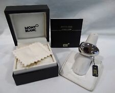 MONT BLANC PROFILE COLLECTION STERLING SILVER SIGNATURE RING 54/6.5