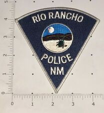 Rio Rancho Police Patch - New Mexico
