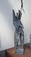 Bronze Weib 45 hoch  Bildhauer Kunstakademie bei Hrdlicka (S) u. Sackenheim (D)