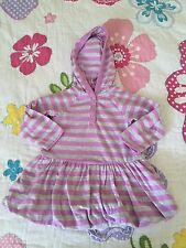 Old Navy baby girl hoodie dress 6-12 months old