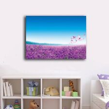 50×70×3cm Lavender Canvas Prints Framed Wall Art Home Decor Painting Gift VI