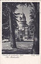 """AK Detmold die wunderschöne Stadt. """"Das Märchenschloss"""" um 1942 nach Hildesheim"""