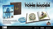 Rise of the Tomb Raider: Artbook First Print Edition [Playstation 4 PS4] NEW
