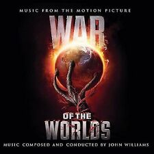 War of the Worlds Music from the Motion Picture John Williams New Tom Cruise CD