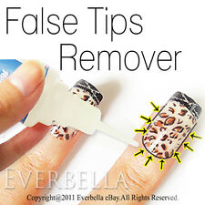 False Fake Arcylic French Nail Tips Glue Remover Debonder 54188