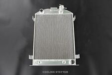 3 ROWS 62MM Aluminum Radiator for 1930 1931 FORD MODEL A CHEVY V8