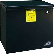 Igloo 5.1 Cubic Feet Chest Freezer Apartment Size Home Compact Black Freeze Food