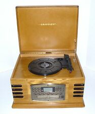 Vintage Style Crosley Record Player CD Am/Fm Radio, Cassette Tape Player LPs