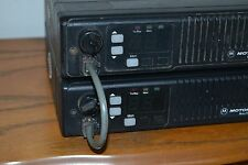 motorola maxtrac VHF 45 watt 16 channels back to back 2 meter repeater HAM radio