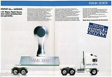 Publicité Advertising 1991 (2 pages) Rank Xerox