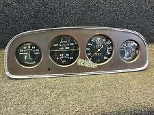 Very Nice All Original 1933 Buick Instrument Gauge Dash Panel Rat Rod SCTA TROG