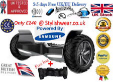 "9"" bluetooth + station électrique hoverboard 2 wheel off-road swegway hummer rp £ 700"