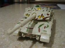 "USA ARMY TANK DIE CAST 5"" PULLBACK ACTION WITH LIGHTS AND SOUNDS DESERT TAN"