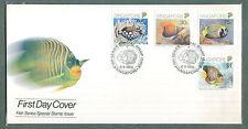 S'pore FDC Fish series 6.9.1989