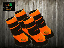 AVERY GREENHEAD GEAR GHG NEOPRENE DOG BOOTS BOOT SHOES BLAZE ORANGE SMALL S