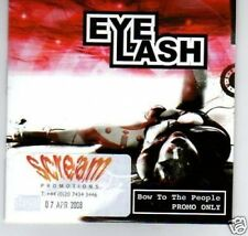 (B921) Eye Lash, Bow To The People - DJ CD