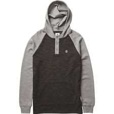 2016 NWT MENS ELEMENT DAVIS HOODIE $70 M charcoal heather fleece pullover