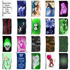 Book Tasche für Smartphone Flip Schutz Hülle Case Cover Etui Cover Design Motiv