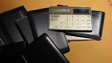 Vintage Casio SL-750 Thin Film Card Solar Calculator JAPAN