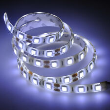 Waterproof 1M 60LED Cool White 5050 SMD LED Strip Lights Flexible Light DC 12V