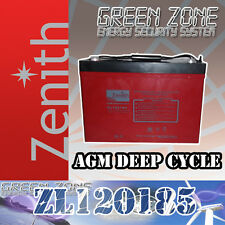 Batteria AGM DEEP CYCLE ZENITH 100Ah 12V 105ah eolico solare 24 ore express